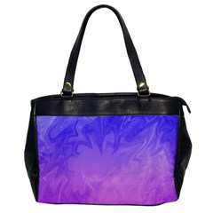 Ombre Purple Pink Office Handbags by BrightVibesDesign