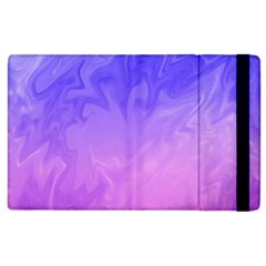 Ombre Purple Pink Apple Ipad 2 Flip Case by BrightVibesDesign