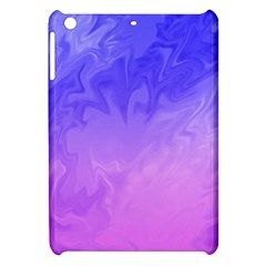 Ombre Purple Pink Apple Ipad Mini Hardshell Case by BrightVibesDesign