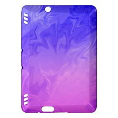 Ombre Purple Pink Kindle Fire HDX Hardshell Case by BrightVibesDesign