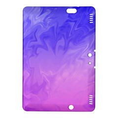 Ombre Purple Pink Kindle Fire Hdx 8 9  Hardshell Case by BrightVibesDesign