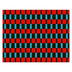 Black Red Rectangles Pattern                                                          jigsaw Puzzle (rectangular) by LalyLauraFLM