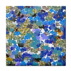 Mixed Brushes                                                           tile Coaster by LalyLauraFLM