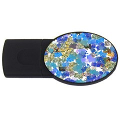 Mixed Brushes                                                           usb Flash Drive Oval (2 Gb) by LalyLauraFLM