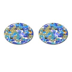 Mixed Brushes                                                           			cufflinks (oval) by LalyLauraFLM