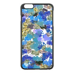 Mixed Brushes                                                           			apple Iphone 6 Plus/6s Plus Black Enamel Case by LalyLauraFLM
