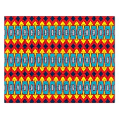 Rhombus And Other Shapes Pattern                                                            jigsaw Puzzle (rectangular) by LalyLauraFLM
