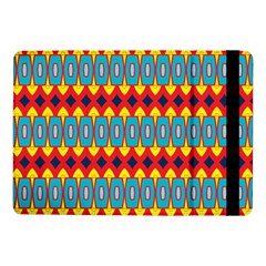 Rhombus and other shapes pattern                                                            Samsung Galaxy Tab Pro 10.1  Flip Case by LalyLauraFLM