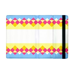 Rhombus And Stripes                                                             			apple Ipad Mini Flip Case by LalyLauraFLM