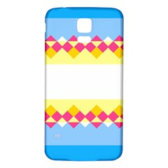 Rhombus And Stripes                                                             			samsung Galaxy S5 Back Case (white) by LalyLauraFLM