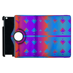 Triangles Gradient                                                             			apple Ipad 2 Flip 360 Case by LalyLauraFLM