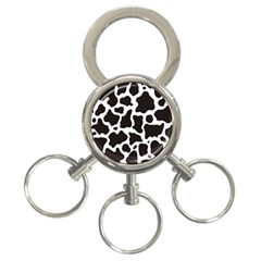 Cow Pattern 3 Ring Key Chains by sifis