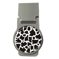 Cow Pattern Money Clips (round)  by sifis