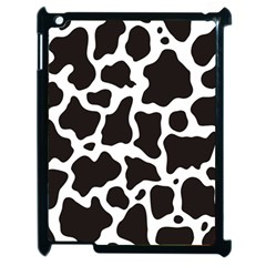 Cow Pattern Apple Ipad 2 Case (black) by sifis