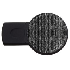 Dark Grunge Texture Usb Flash Drive Round (2 Gb)  by dflcprints