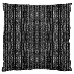 Dark Grunge Texture Large Cushion Case (one Side) by dflcprints