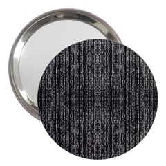 Dark Grunge Texture 3  Handbag Mirrors by dflcprints