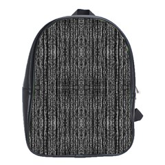 Dark Grunge Texture School Bags (xl)  by dflcprints