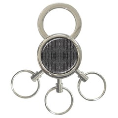 Dark Grunge Texture 3 Ring Key Chains by dflcprints