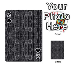 Dark Grunge Texture Playing Cards 54 Designs