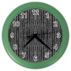 Dark Grunge Texture Color Wall Clocks by dflcprints