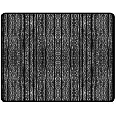 Dark Grunge Texture Fleece Blanket (medium)  by dflcprints