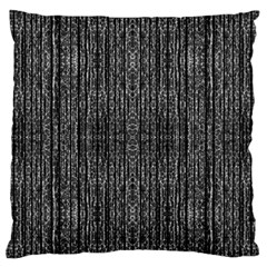Dark Grunge Texture Large Flano Cushion Case (two Sides) by dflcprints