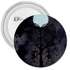 Love Tree 3  Buttons by lvbart
