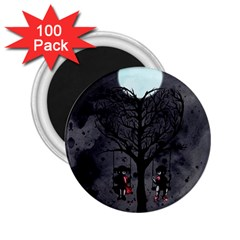 Love Tree 2 25  Magnets (100 Pack)  by lvbart