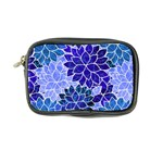 Azurite Blue Flowers Coin Purse