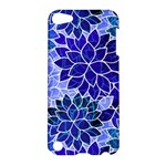 Azurite Blue Flowers Apple iPod Touch 5 Hardshell Case