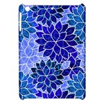 Azurite Blue Flowers Apple iPad Mini Hardshell Case