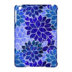 Azurite Blue Flowers Apple Ipad Mini Hardshell Case (compatible With Smart Cover) by KirstenStar