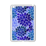 Azurite Blue Flowers iPad Mini 2 Enamel Coated Cases