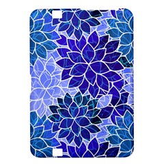 Azurite Blue Flowers Kindle Fire Hd 8 9  by KirstenStar
