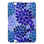 Azurite Blue Flowers Kindle Fire HD 8.9