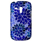 Azurite Blue Flowers Samsung Galaxy S3 MINI I8190 Hardshell Case