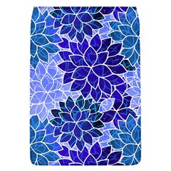 Azurite Blue Flowers Flap Covers (L)