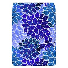 Azurite Blue Flowers Flap Covers (s)  by KirstenStar