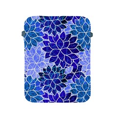 Azurite Blue Flowers Apple iPad 2/3/4 Protective Soft Cases by KirstenStar