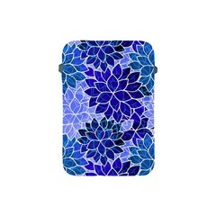 Azurite Blue Flowers Apple Ipad Mini Protective Soft Cases by KirstenStar