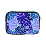 Azurite Blue Flowers Apple iPad Mini Zipper Cases