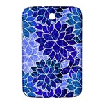Azurite Blue Flowers Samsung Galaxy Note 8.0 N5100 Hardshell Case