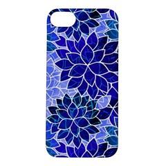 Azurite Blue Flowers Apple Iphone 5s/ Se Hardshell Case by KirstenStar