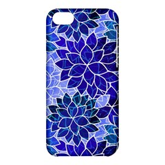Azurite Blue Flowers Apple Iphone 5c Hardshell Case by KirstenStar