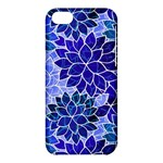 Azurite Blue Flowers Apple iPhone 5C Hardshell Case