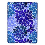 Azurite Blue Flowers iPad Air Hardshell Cases