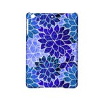 Azurite Blue Flowers iPad Mini 2 Hardshell Cases