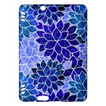 Azurite Blue Flowers Kindle Fire HDX Hardshell Case