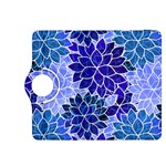 Azurite Blue Flowers Kindle Fire HDX 8.9  Flip 360 Case